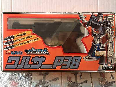 Transformers Takara Walter P38 Perfect Made In Japan Vintage!!!
