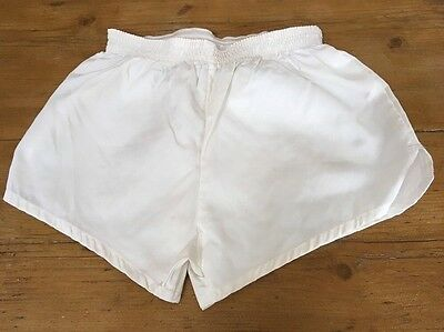 Vintage 1980s Spall Sports PE Football SHORTS Mens XS / Large Boys Crisp Nylon
