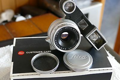 leica 35mm 2.8 with goggles ex++ M fit