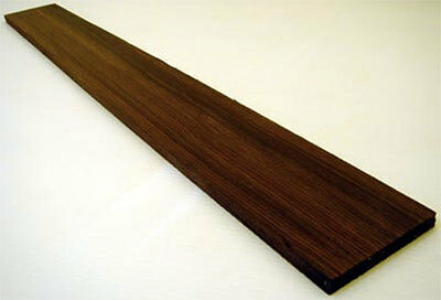 Indian Rosewood Guitar Fingerboard Blank - 1st Quality Fretboard for Luthier