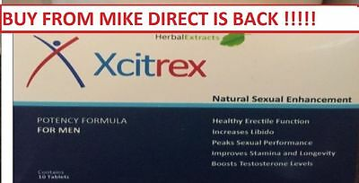 100 x BLUE XCITREX 12HR BLUE SEX AIDS ROCK HARD TABLETS +YOUR TRUSTED SELLER ! !