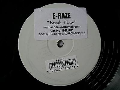 "E-RAZE Break 4 Luv 12"" promo"
