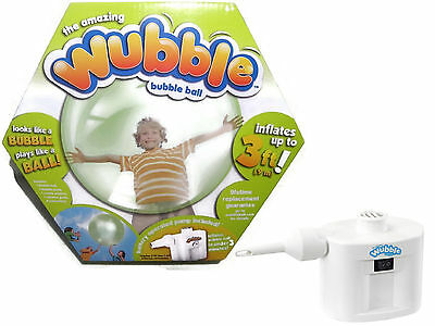 New Green Wubble Bubble Ball with Pump Inflatable Outdoor Toy