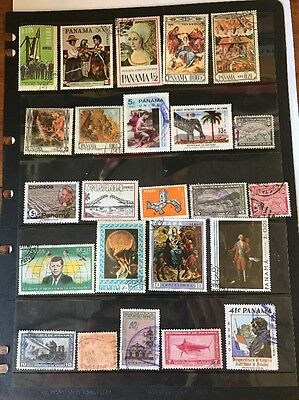 stamps  Panama - Used - Lot 308