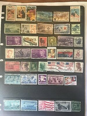stamps  United States - Used - Lot 430