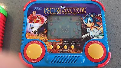 Sega Sonic Hedgehog Pinball ELECTRONIC HANDHELD GAME ( TIGER )