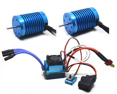 F540 3650 9T 4370 KV 10T 3930 KV Motor 60A ESC for 1/10 1/16 Drift RC Racing Car