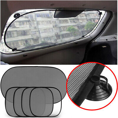 5x Car Van Window Sun UV Shades Visor Screen Protector Baby Kids Rear Side Blind