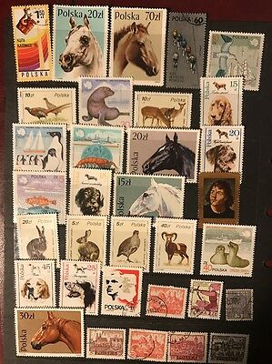 stamps  Poland  - MNH and Used - Lot 48