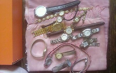 Watches, 14 assorted for parts or repair