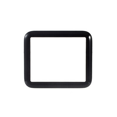 For Apple Watch 38mm OEM Front Sapphire Screen Glass Lens Replacement - Black