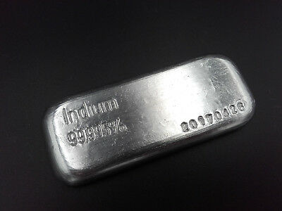 Indium Barren 100g >99,995% -In 49- 0,1kg ingot metal