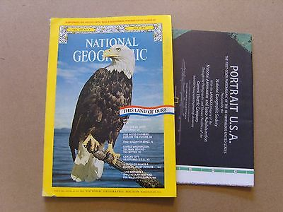National Geographic Magazine - July 1976 - Double Sided Usa Map Included