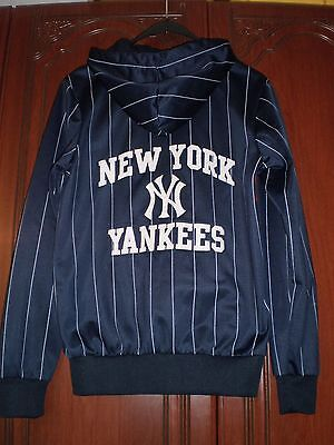 New York Yankees Hooded Baseball Top