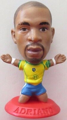 Adriano 2006 Brazil Football Corinthian Figure Red Base MC5467, Inter Milan