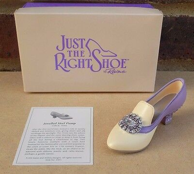 JUST THE RIGHT SHOE - Jeweled Heel Pump