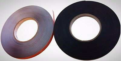 Self Adhesive Magnetic Steel Tape Strip 10M Kit For Secondary Glazing Brand New