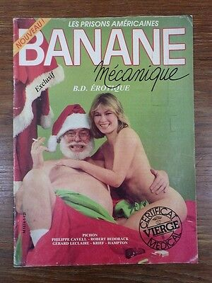Magazine Revue BD ADULTE BANANE MECANIQUE No 1 DL 4eme Trimestre 1983