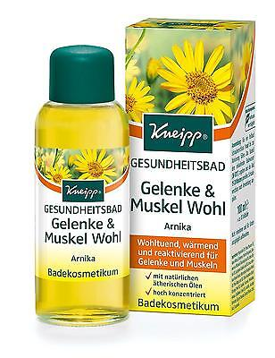 Kneipp Bath Health Joints and Muscle Arnica Skin Care 100 ml Pack of 1