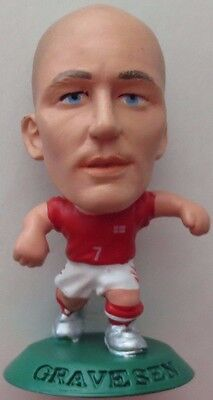 Thomas Gravesen 2004 Denmark Football Corinthian Figure Green Base MC3101