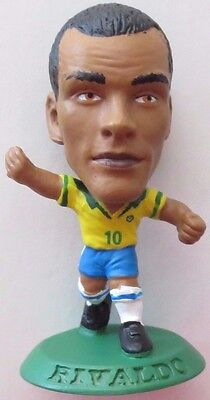 Rivaldo 2001 Brazil Football Corinthian Figure Green Base MC467, FC Barcelona