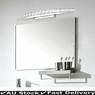 New 10W Modern LED Crystal Make-up Mirror Front Light Wall Fixtures Lamp Decor