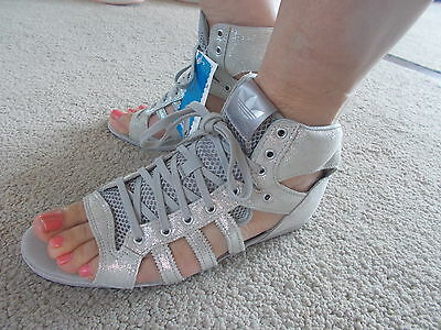 Ladies Adidas Originals Roman Gladiator Style Sandals Uk9.5 Eu44  V24617 Rrp £70
