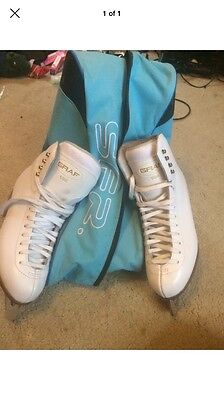 Graf 500 ice skates Size 40, Pristine Condition