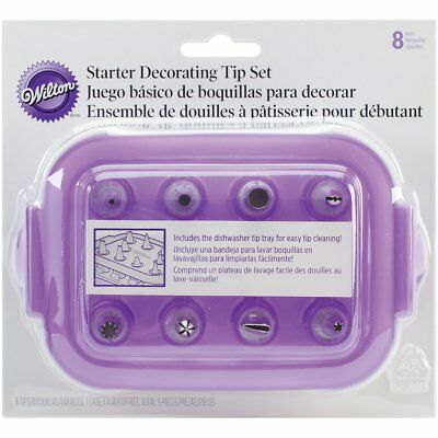Wilton Decorating 9Pc Starter Tip Set