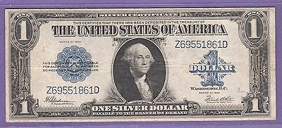 1923  One Dollar Silver Certificate **LARGE** Note..$1.00...861