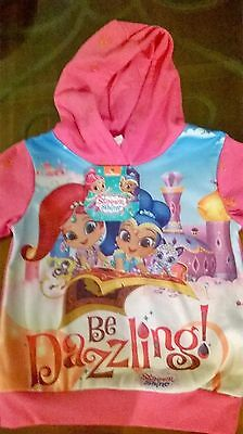 SHIMMER & SHINE HOODIE JUMPER / Girl / Sizes 2, 3, 4, 5 and 6.