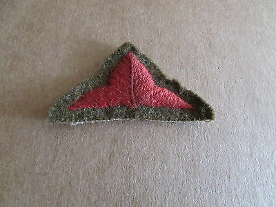WW1 British Divisional Shoulder Patch