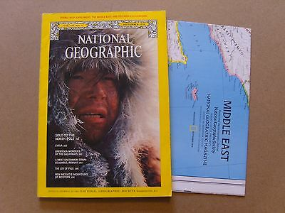 National Geographic Magazine - September 1978 - The Middle East Map Included