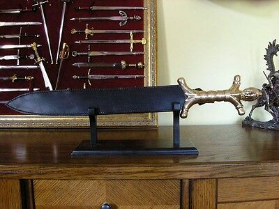 CELTIC SWORD WITH PROVEN leather scabbard