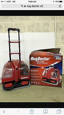 NEW - Rug Doctor Portable Spot Cleaner 2X Suction Carpet Cleaning Machine 93300