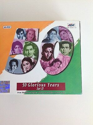 Bollywood Songs, 50 Glorious Years Set II - 5 CDs