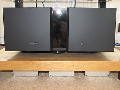 Vitus RS-100 Reference Power Amp in Black