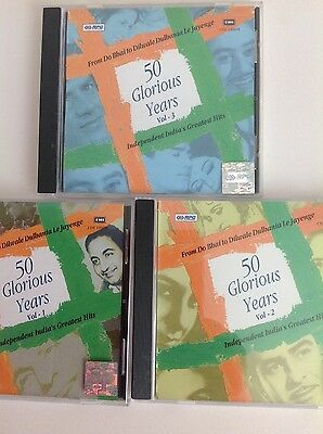 Bollywood Songs, 50 Glorious Years, Volumes 1-3 - 3 CDs