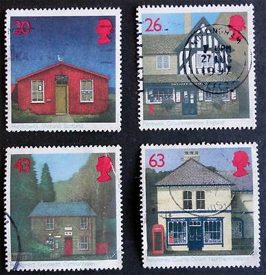 Great Britain 1997 'Sub-Post Offices' SG1997/2000 Used Set