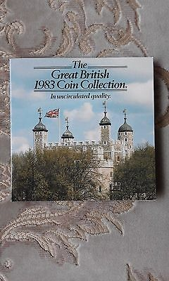 The Great British 1983 Coin Collection uncirculated quality