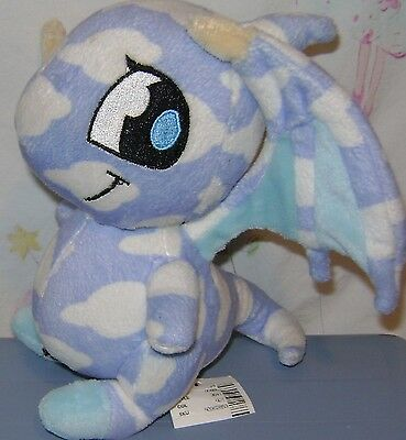 "Neopets Plush 6"" Cloud Shoyru 2007"