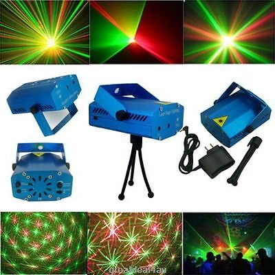 Mini LED stage laser lights disco Lighting projector DJ Party club Show Strobe
