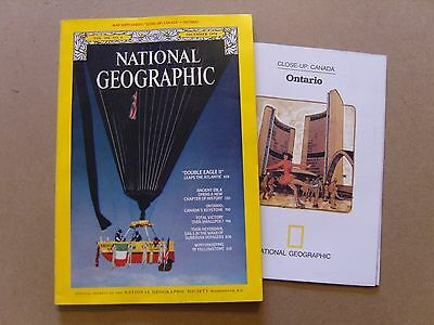 National Geographic Magazine - December 1978 - Canada, Ontario Map Included