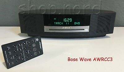 Bose Wave Music System IV, schwarz, Espresso, inklusive Bluetooth - Adapter