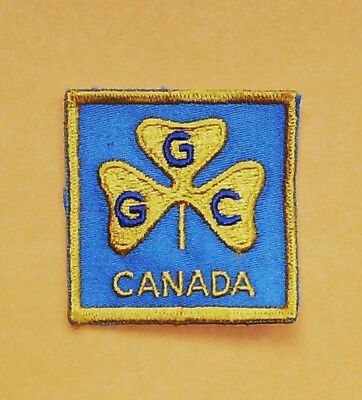Vintage Girl Guides Canada Patch