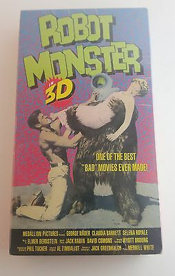 New Robot Monster in 3D- VHS 1953 - Black & White B-Movie
