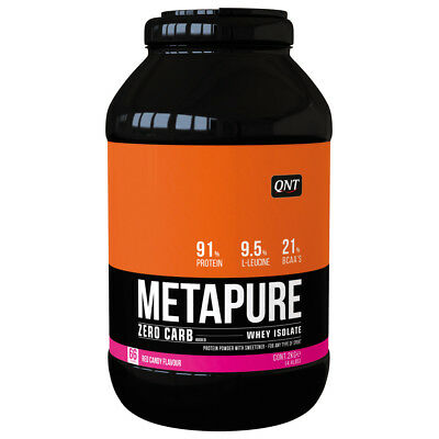(32,50€/1kg) QNT Zero Carb Metapure 2kg; Red Candy Whey Isolate