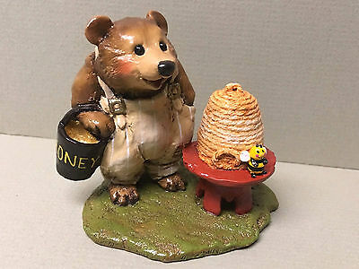 "WEE FOREST FOLK-""Honey Bear"" BB-11 2001 By Annette Petersen Mint!"