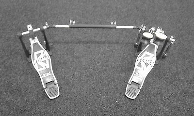 """Tama Iron Cobra """"Power Glide"""" Double Bass Drum Pedal with Pearl Case."""