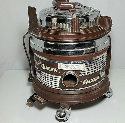Vintage Filter Queen Canister Vacuum Cleaner
